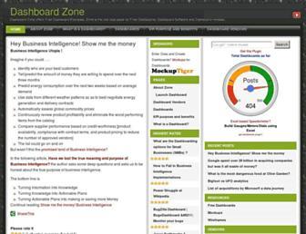 dashboardzone.com screenshot