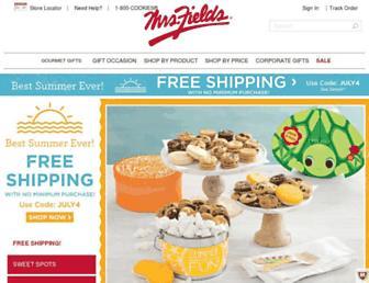 Thumbshot of Mrsfields.com