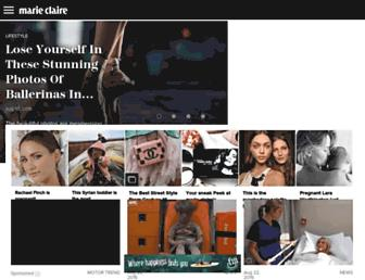 marieclaire.com.au screenshot