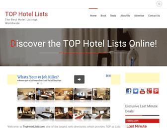 Thumbshot of Tophotellists.com