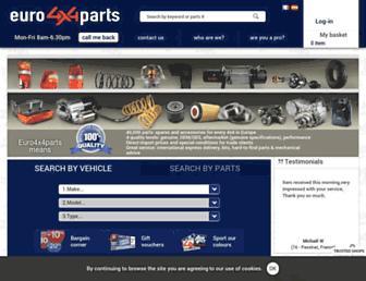 Thumbshot of Euro4x4parts.com