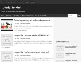 tutorialterkini.blogspot.com screenshot