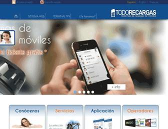Thumbshot of Todorecargas.com