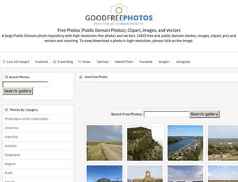 goodfreephotos.com screenshot