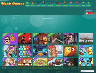 yoobgames.org screenshot