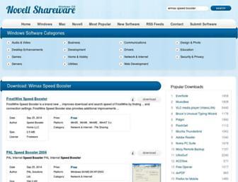 wimax-speed-booster.windows.novellshareware.com screenshot