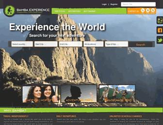 bambaexperience.com screenshot