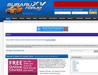 Thumbshot of Subaruxvforum.com