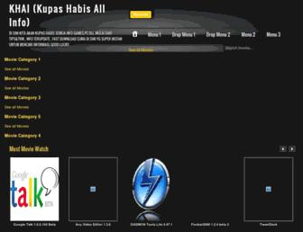 khai-terupdate.blogspot.com screenshot
