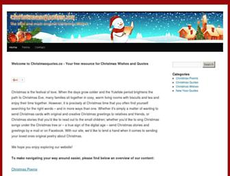 Thumbshot of Christmasquotes.co