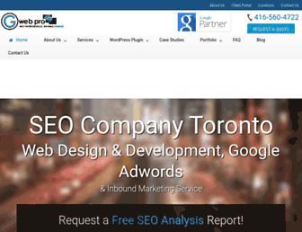 gwebpro.com screenshot