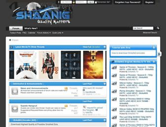 Thumbshot of Shaanig.com