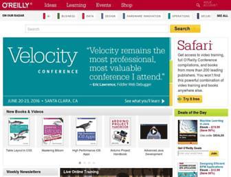 archive.oreilly.com screenshot