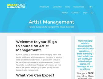 smartbandmanagement.com screenshot