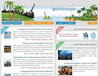Main page screenshot of girandoilmondo.it