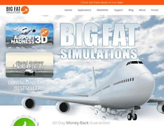 bigfatsimulations.com screenshot