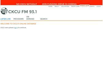 cod.ckcufm.com screenshot