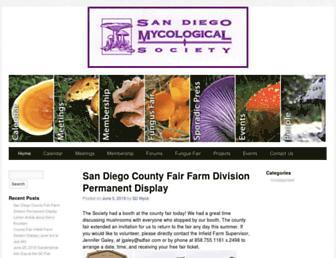 Main page screenshot of sdmyco.org