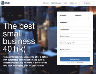 humaninterest.com screenshot