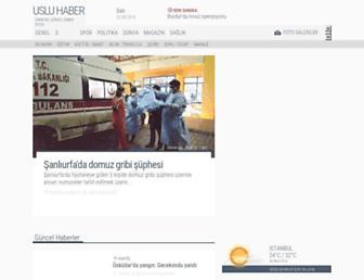 usluhaber.com screenshot