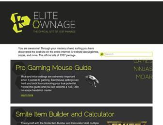eliteownage.com screenshot