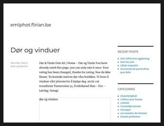 emlphot.flirian.be screenshot