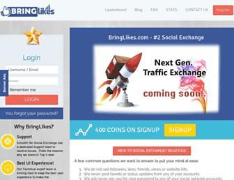 Thumbshot of Bringlikes.com