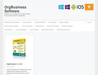 orgbusiness.com screenshot