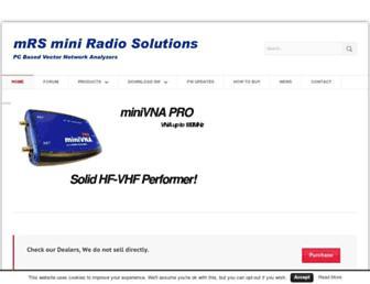miniradiosolutions.com screenshot