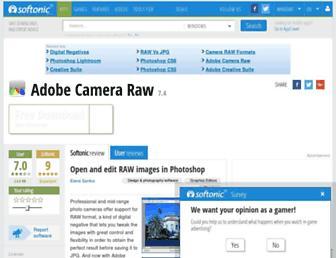 adobe-camera-raw.en.softonic.com screenshot