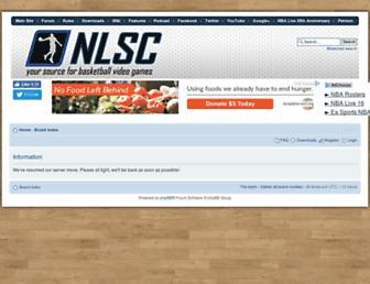 forums.nba-live.com screenshot