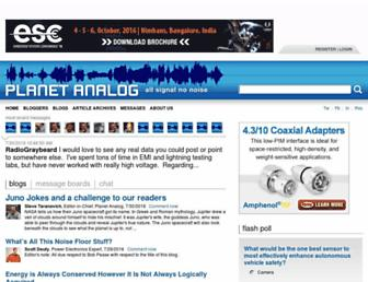 planetanalog.com screenshot