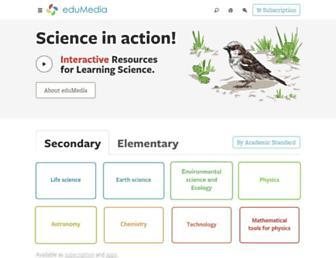 edumedia-sciences.com screenshot