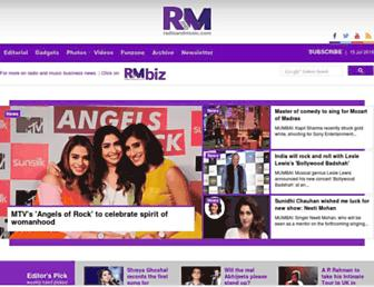 radioandmusic.com screenshot