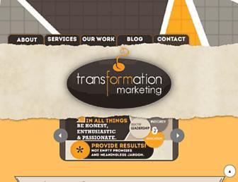 transformationmarketing.com screenshot
