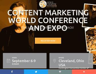 contentmarketingworld.com screenshot