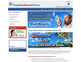Thumbshot of Targetaudienceonline.biz
