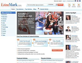 Thumbshot of Ezinemark.com
