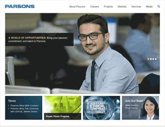 Thumbshot of Parsons.com