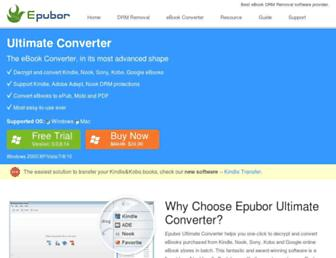 epubor.com screenshot