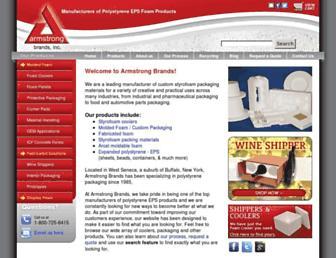 armstrongbrands.com screenshot