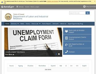 labor.hawaii.gov screenshot