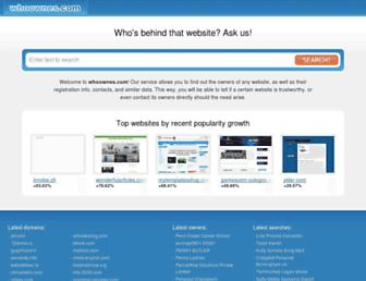 whoownes.com screenshot
