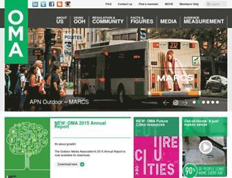 oma.org.au screenshot
