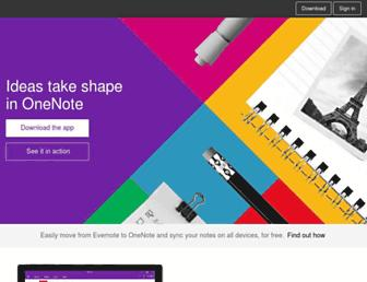 Thumbshot of Onenote.com