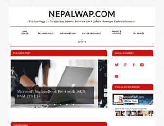 nepalwap.com screenshot