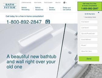 bathfitter.com screenshot