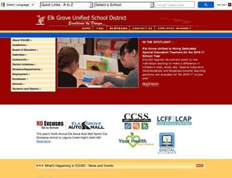 egusd.net screenshot