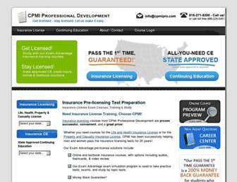 cpmipro.com screenshot