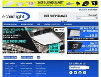 Thumbshot of E-conolight.com